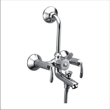 Wall Mixer 3-in-1 With L Bend