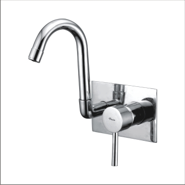 Single Lever Concealed Sink Mixer Wall Mounted
